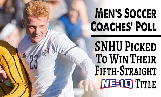 Penmen Chosen by League Coaches to Win Fifth Straight NE-10 Men's Soccer Title
