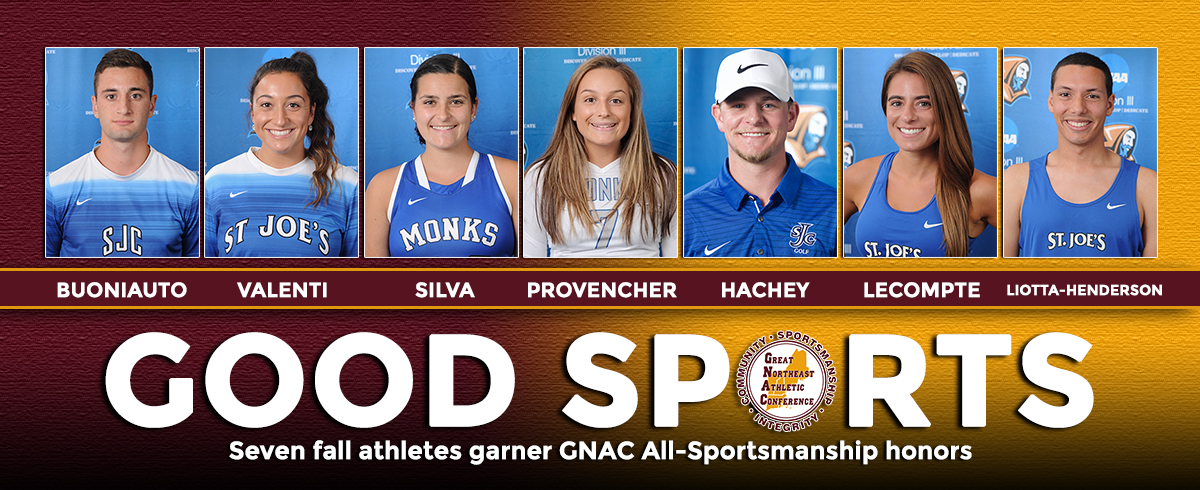 Seven SJC Fall Athletes Claim GNAC All-Sportsmanship Team Honors