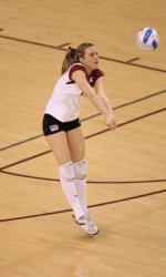 Courtney And O'Brien Post Career Highs As Bronco Volleyball Falls 3-0 To Sacramento State