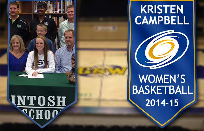 Campbell Signs With Lady 'Canes