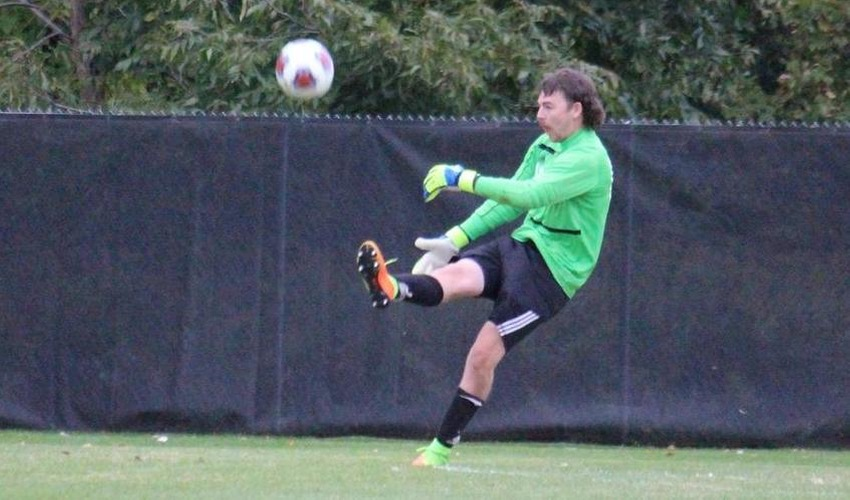 Men's Soccer suffers first conference loss
