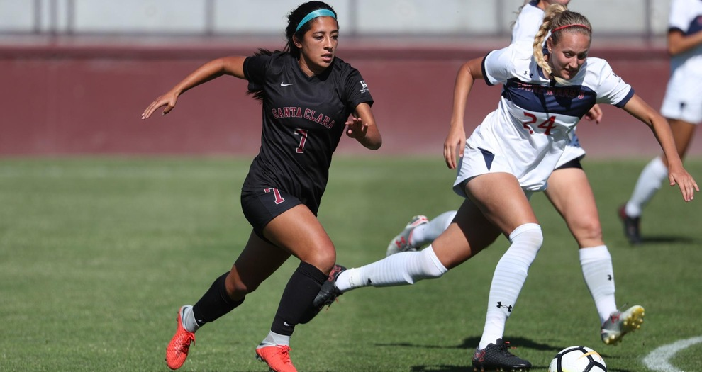 No. 7 Women's Soccer Welcomes Gonzaga Sunday for WCC Matchup