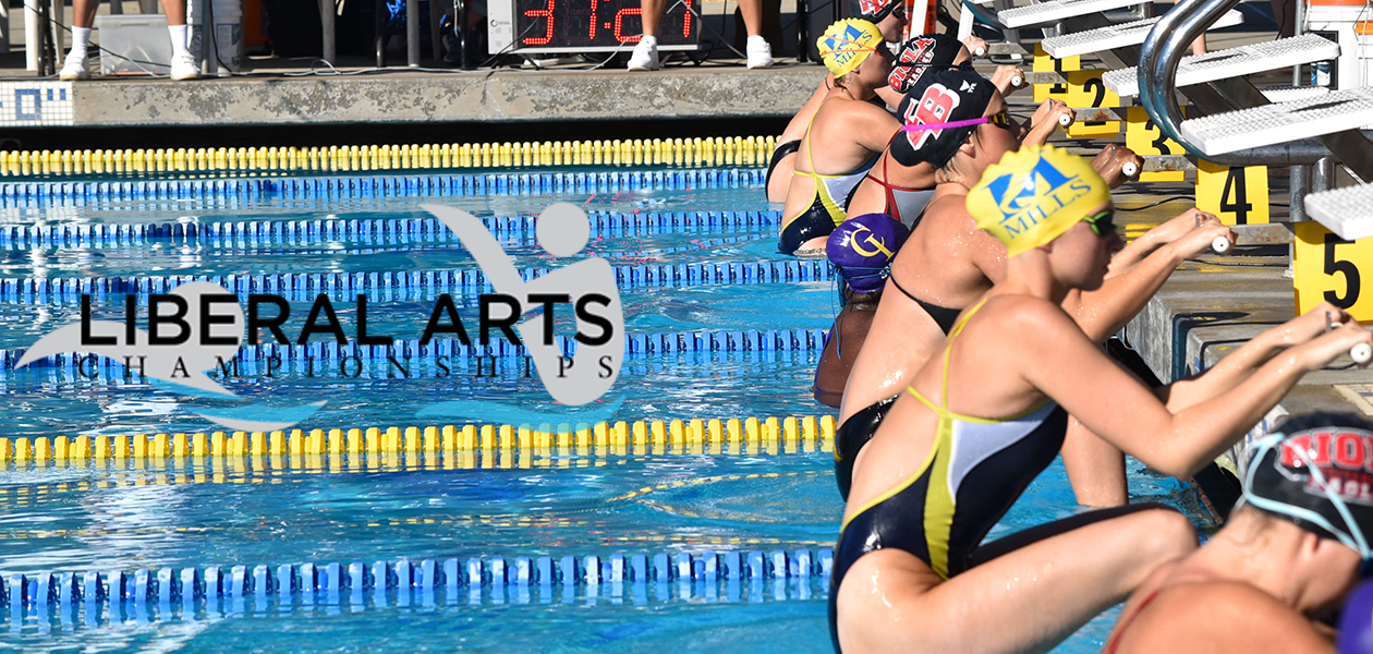 Mills Swimming off to an Incredible Start at Liberal Arts Championships