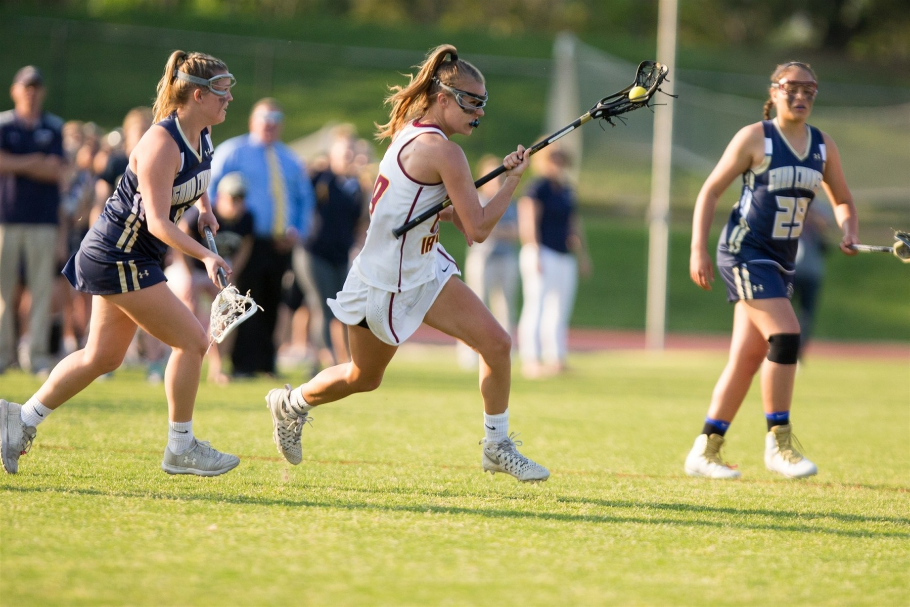 Bishop Ireton will go for its 4th Straight Girl's WCAC Lacrosse Championship on Monday vs Good Counsel.