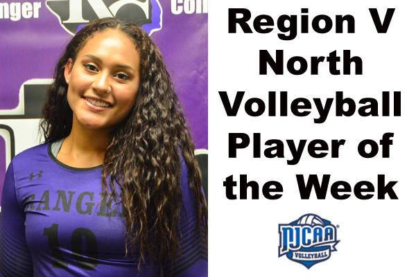 NTJCAC Volleyball Player of the Week (Oct. 15-21)