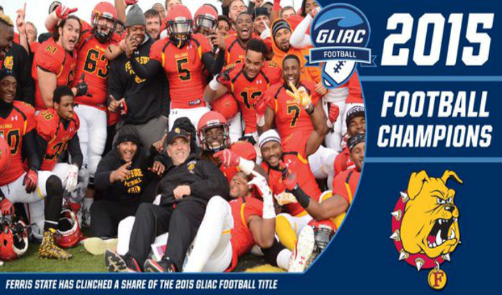 Ferris State Caps Second-Straight Unbeaten Regular Season By Winning Second GLIAC Title In A Row