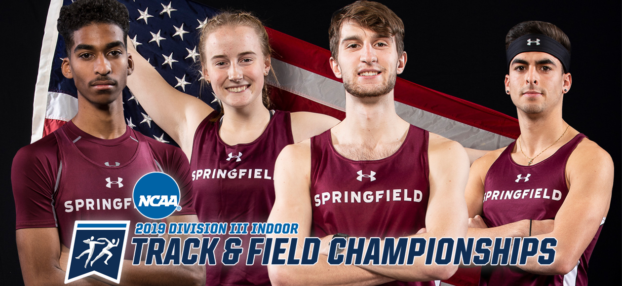 Four Track and Field Student-Athletes to Represent Springfield College at the NCAA Division III Championships March 8-9