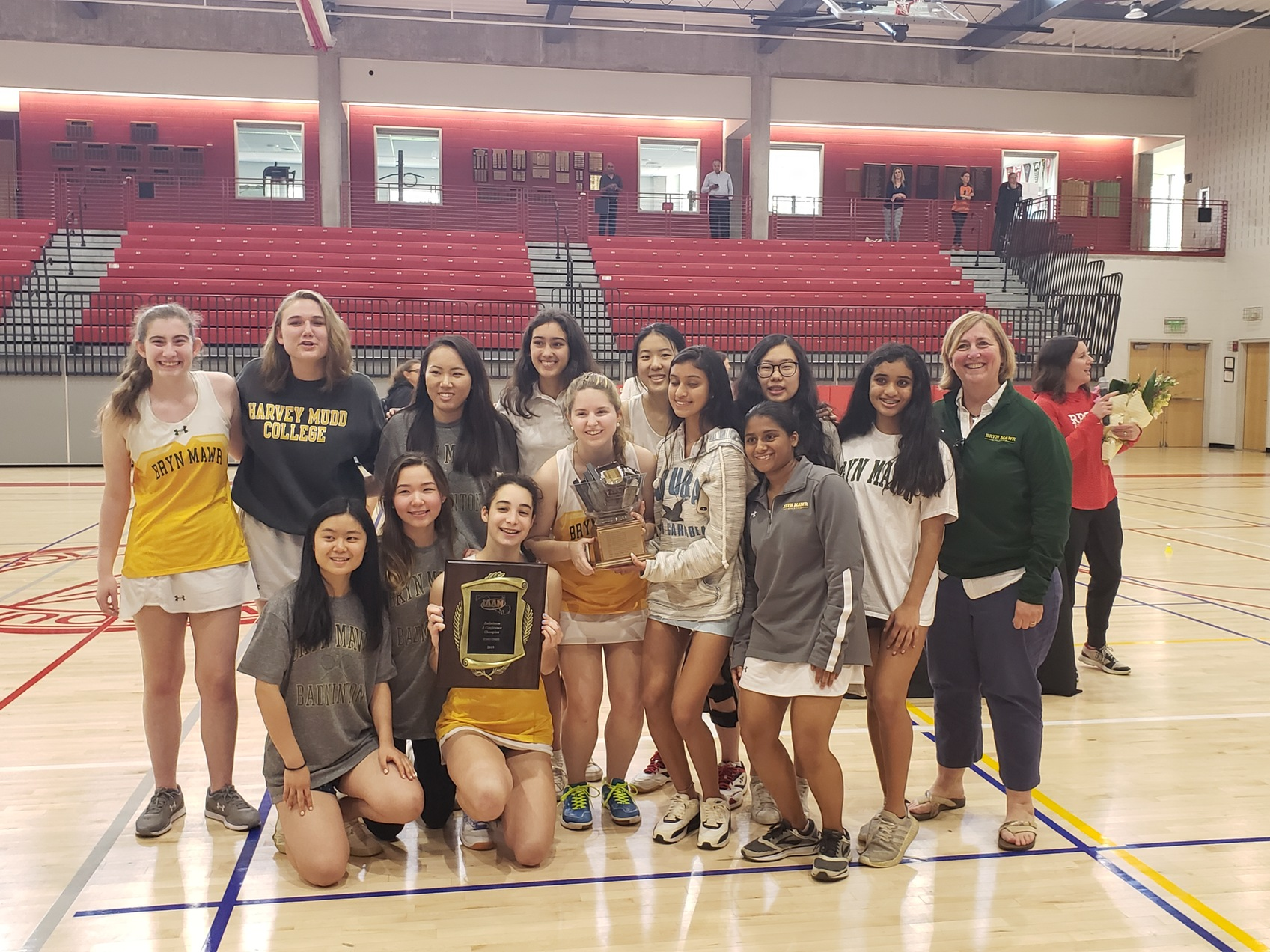 Bryn Mawr takes A Conference badminton title, St. Paul's nets B Conference crown