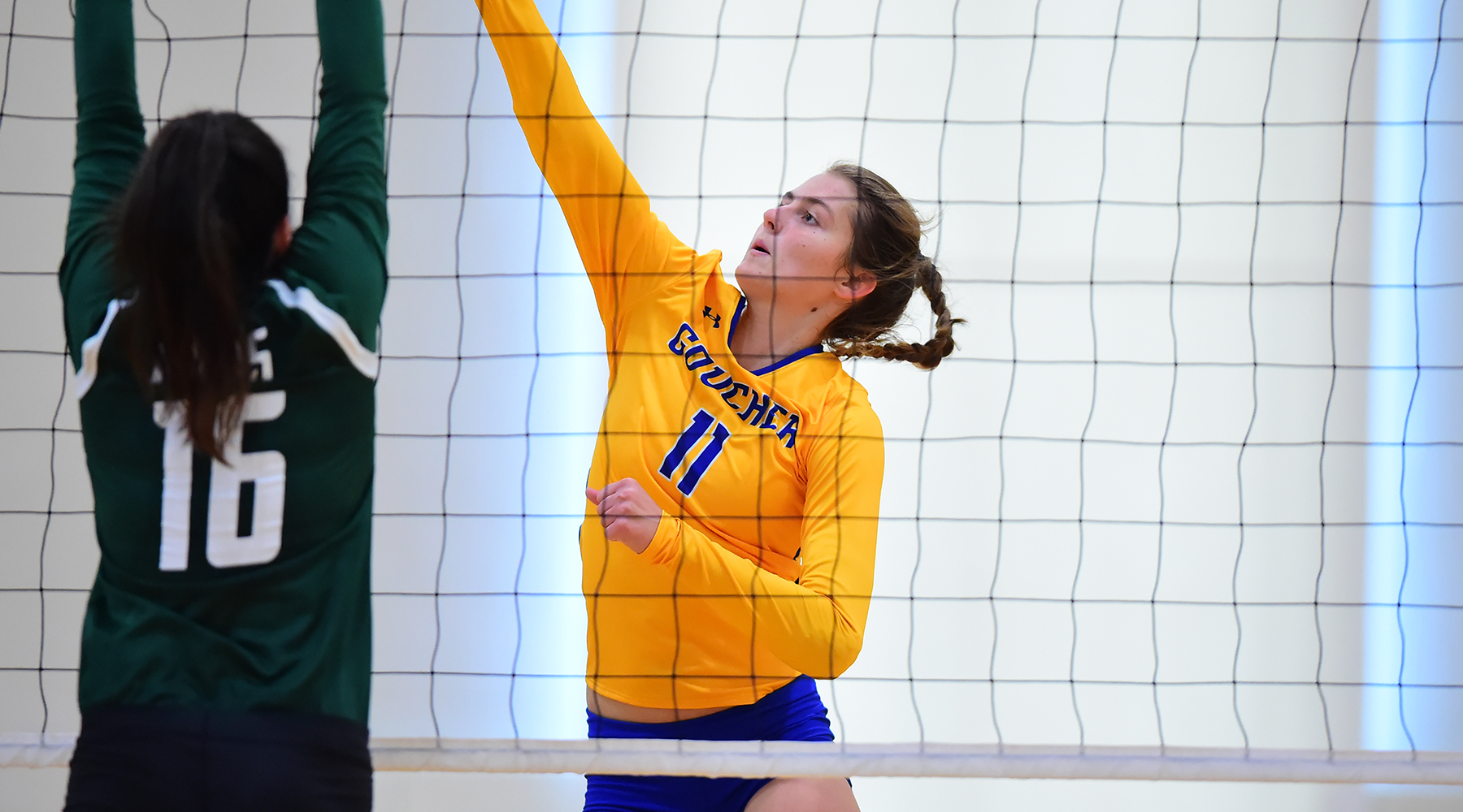 Volleyball Falls to E-Town, Scranton in Landmark Conference Opener