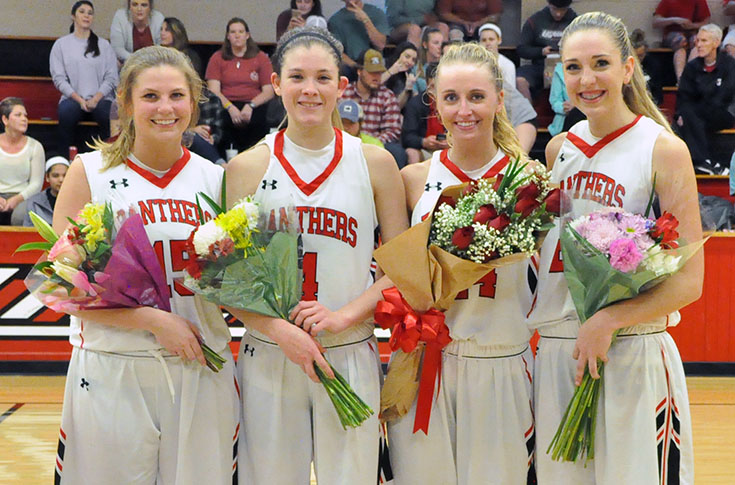 Women's Basketball: Big first quarter helps Berea spoil Panthers' Senior Day