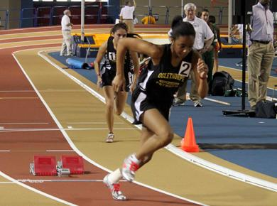 Track Petrels Enjoy Record Setting Day at Birmingham Indoor