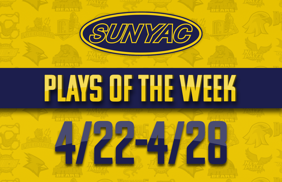 SUNYAC Spring Plays of the Week - April 22-28