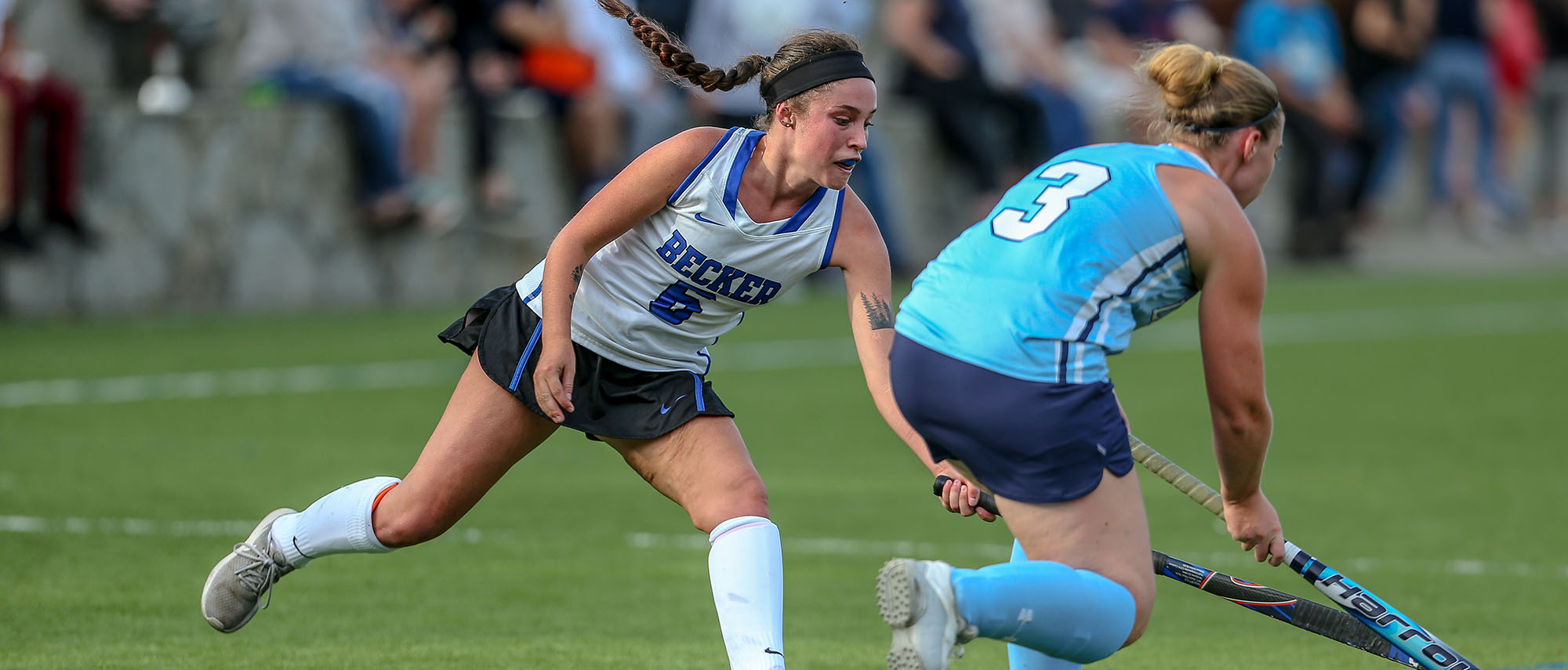 Amy Cooper scored a goal in a 6-1 loss to Colby-Sawyer on Saturday afternoon.