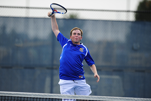 Freshman Picks Up Fifth Win at No. 1 Singles for Goucher