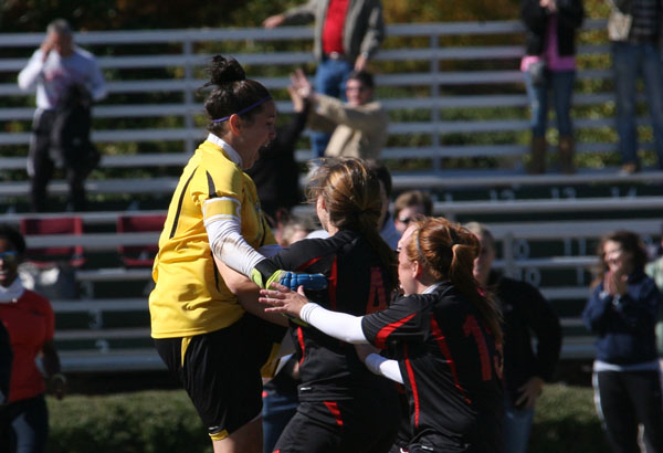Women's Soccer: Panthers shock top-seeded Maryville to reach GSAC championship