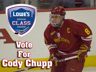 Cody Chupp Selected A Lowe's Senior CLASS Award Finalist