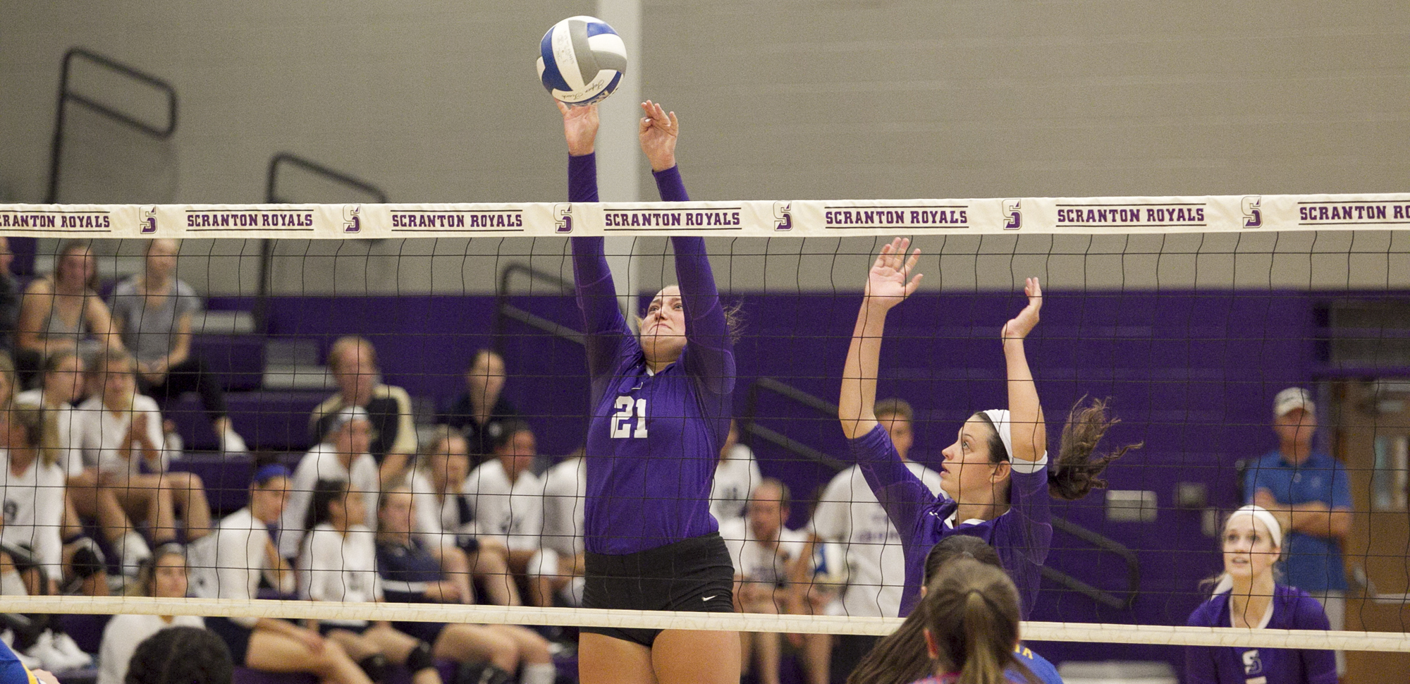 Jillian Graham totaled six kills and six digs in Scranton's season-opening win over Misericordia on Friday.