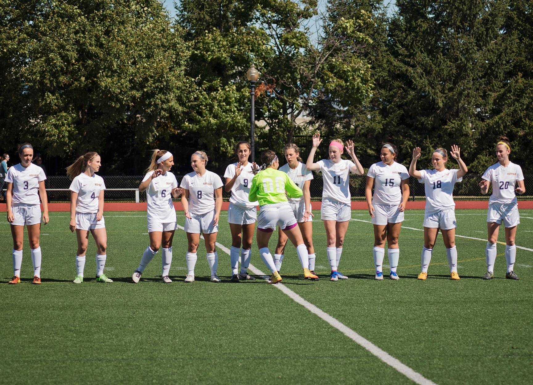 Women's Soccer Steps Out of GNAC Play Wednesday at Curry