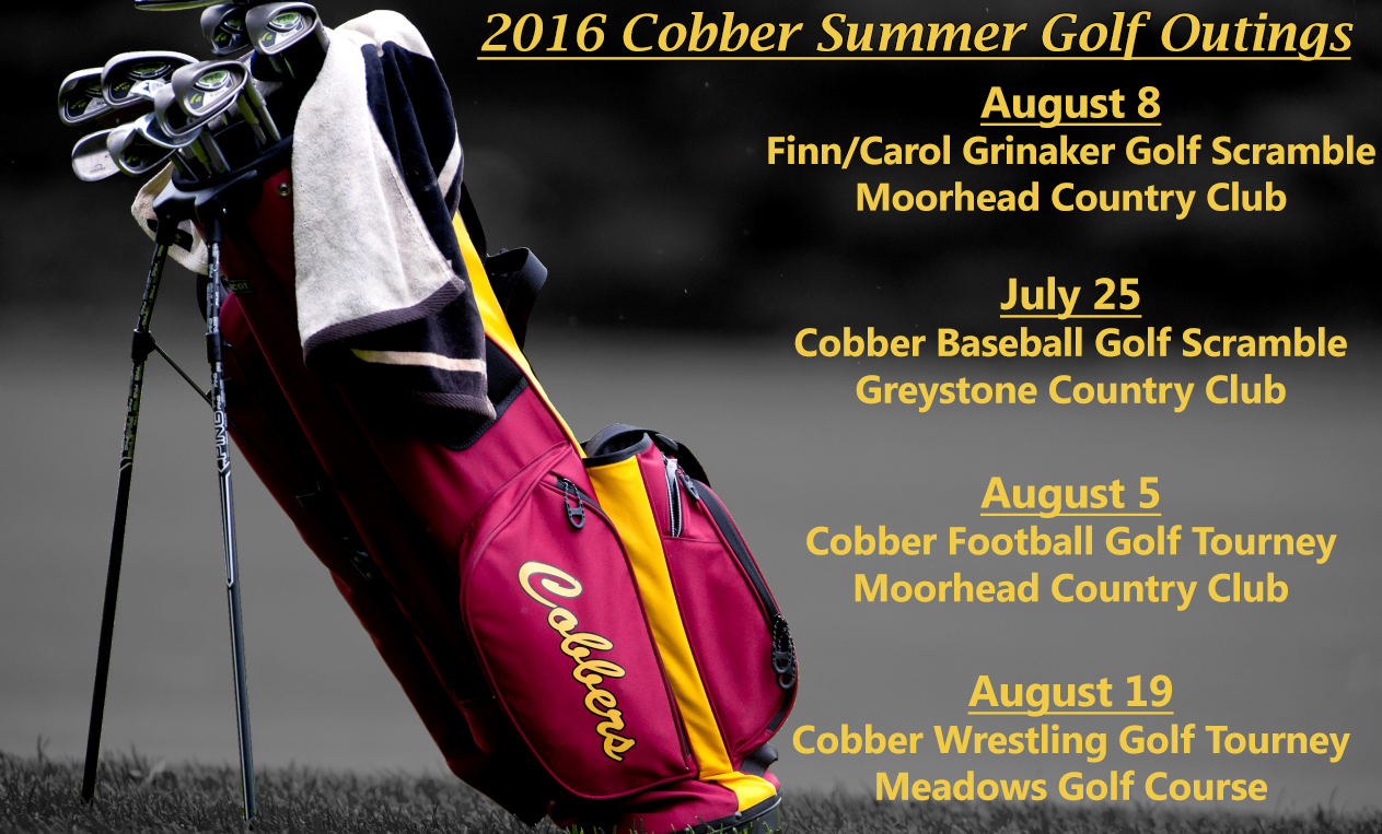 Cobber Athletics Summer Golf Outings
