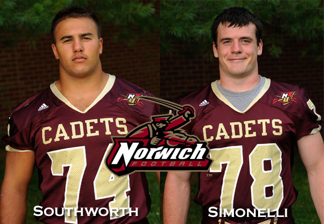 Football: Southworth, Simonelli named captains for 2012 season