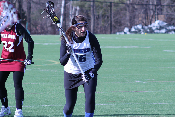 Balanced Attack Lifts Women's Lacrosse Into NECC Championship