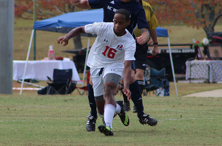 2016-17 Review/Men's Soccer: Dale Cook's goal gives Panthers overtime win over Toccoa Falls