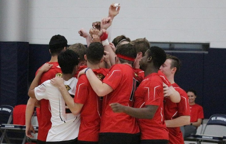 Men's Volleyball Falls to John Jay, Blanks Mount St. Vincent Saturday