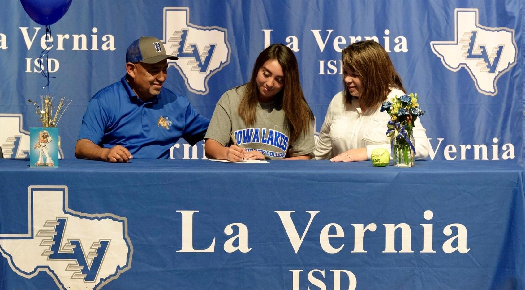 Laker Softball Inks Madeline Cantu