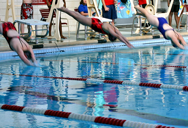 Panther swimmers finish season at Appalachian Swimming & Diving Conference meet