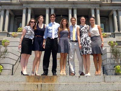 Several CUA student-athletes enjoy trip to White House