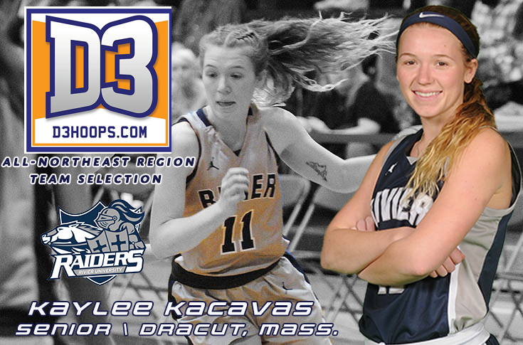 Women's Basketball: Kacavas named to the D3hoops.com All-Northeast Region Team