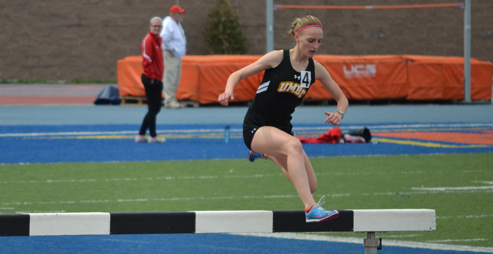 Weekend Opens with School Record Times for UMBC Track and Field