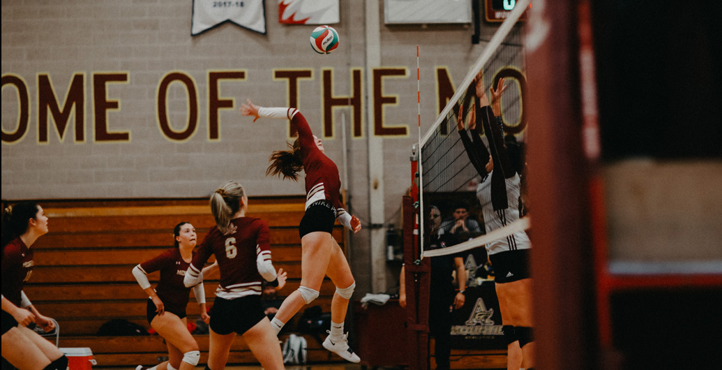 Volleyball Mounties top USA Dragons!