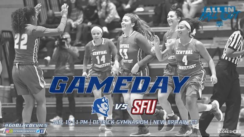 Women's Basketball is Back in New Britain Against Saint Francis U Saturday