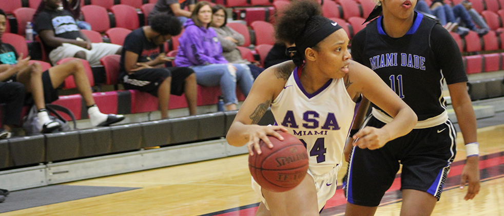 #ASAMiamiWBB Falls to MDC Despite 51 2nd-Half Points