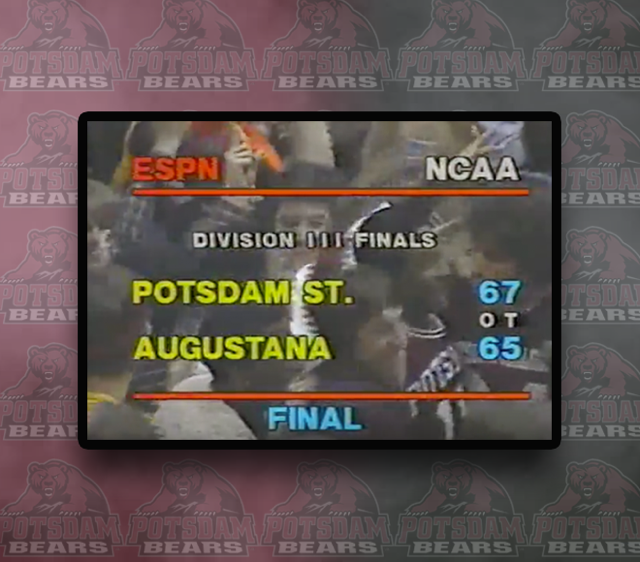 Throwback Thursday: Potsdam captures NCAA men's basketball championship in overtime