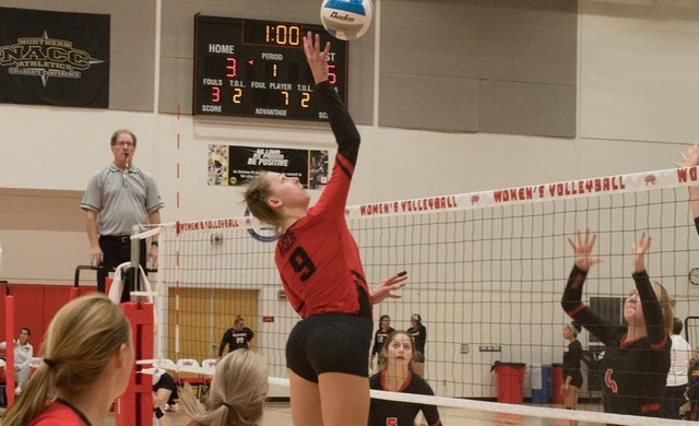 Women's Volleyball Goes Down Swinging vs. Dominican