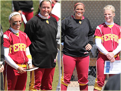 Four Softball Players Named All-GLIAC