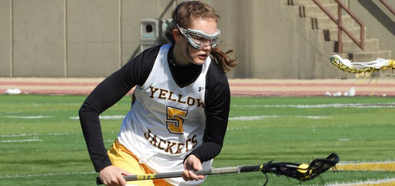 Sophomore All-OAC midfielder Hannah Stein (Photo courtesy of Lori Moran)