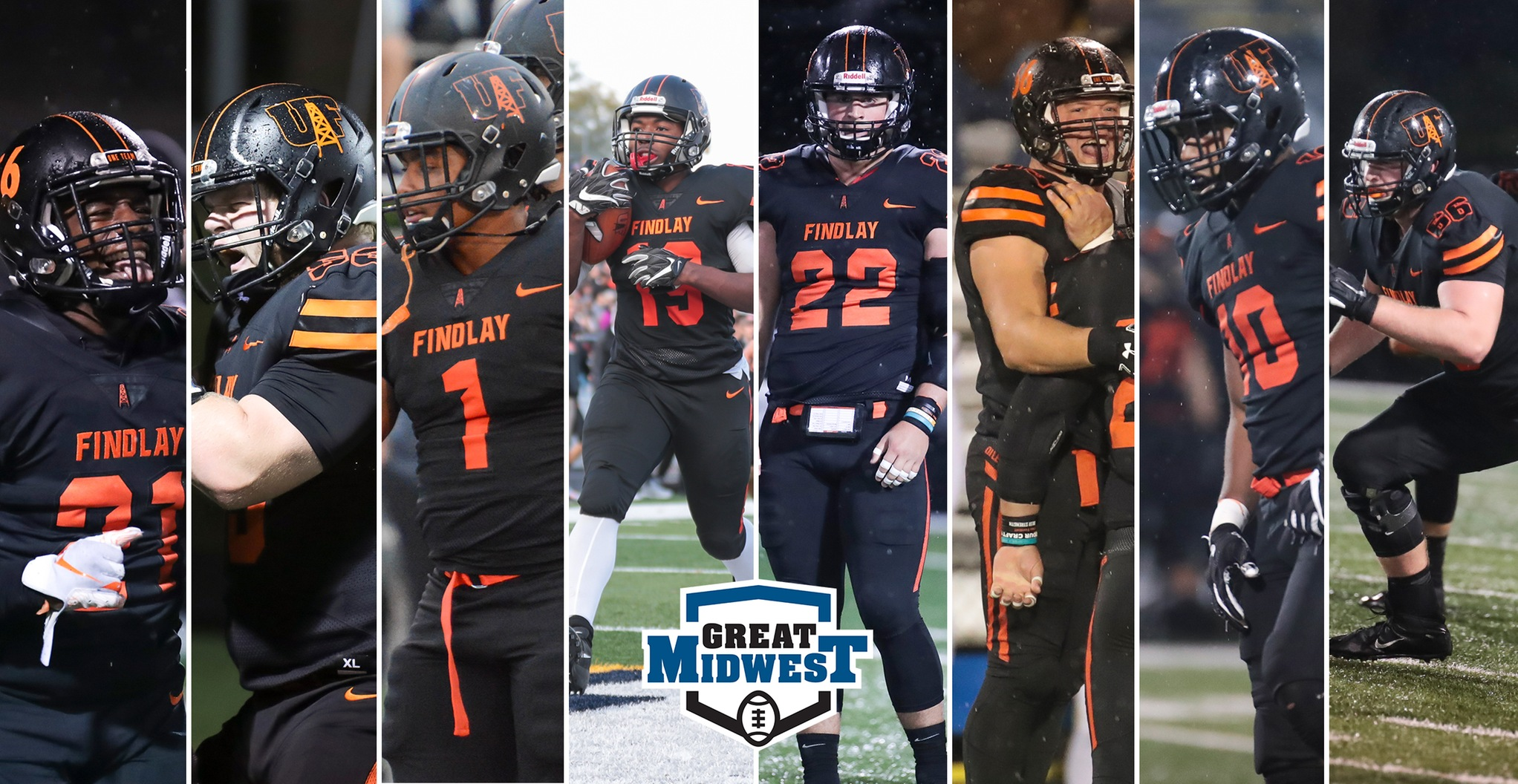 Eight First Team Selections Headline Findlay's All-Conference Awards