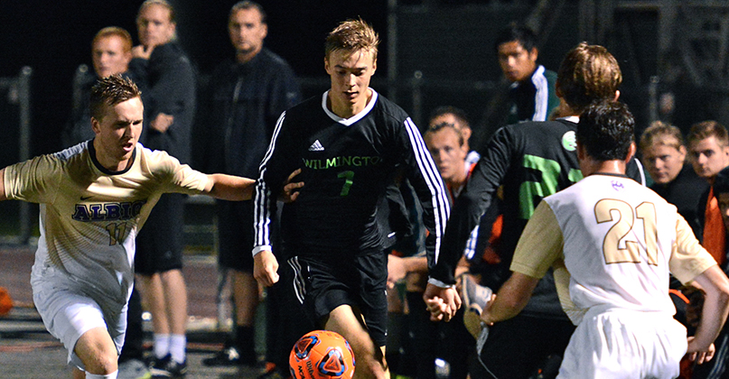 Comeback attempt falls short for @DubC_MSoccer