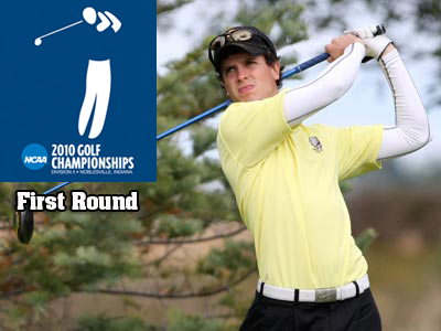 Bulldog senior Eric Lilleboe drained four birdies in Tuesday's opening round of the NCAA Championships.
