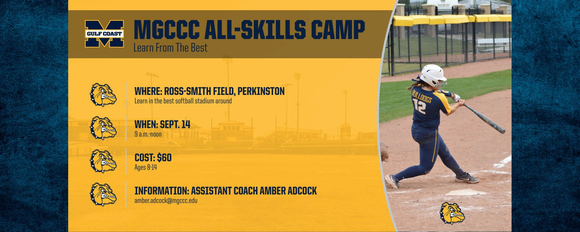 MGCCC Softball to host All-Skills Camp