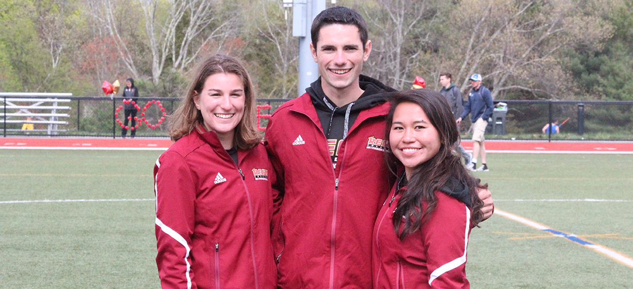 Four School Records Fall as Pride Impresses on Senior Day