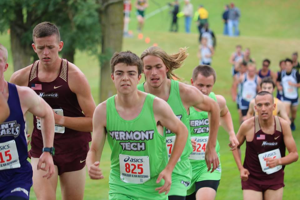 Two Vermont Tech runners named Player of the Week