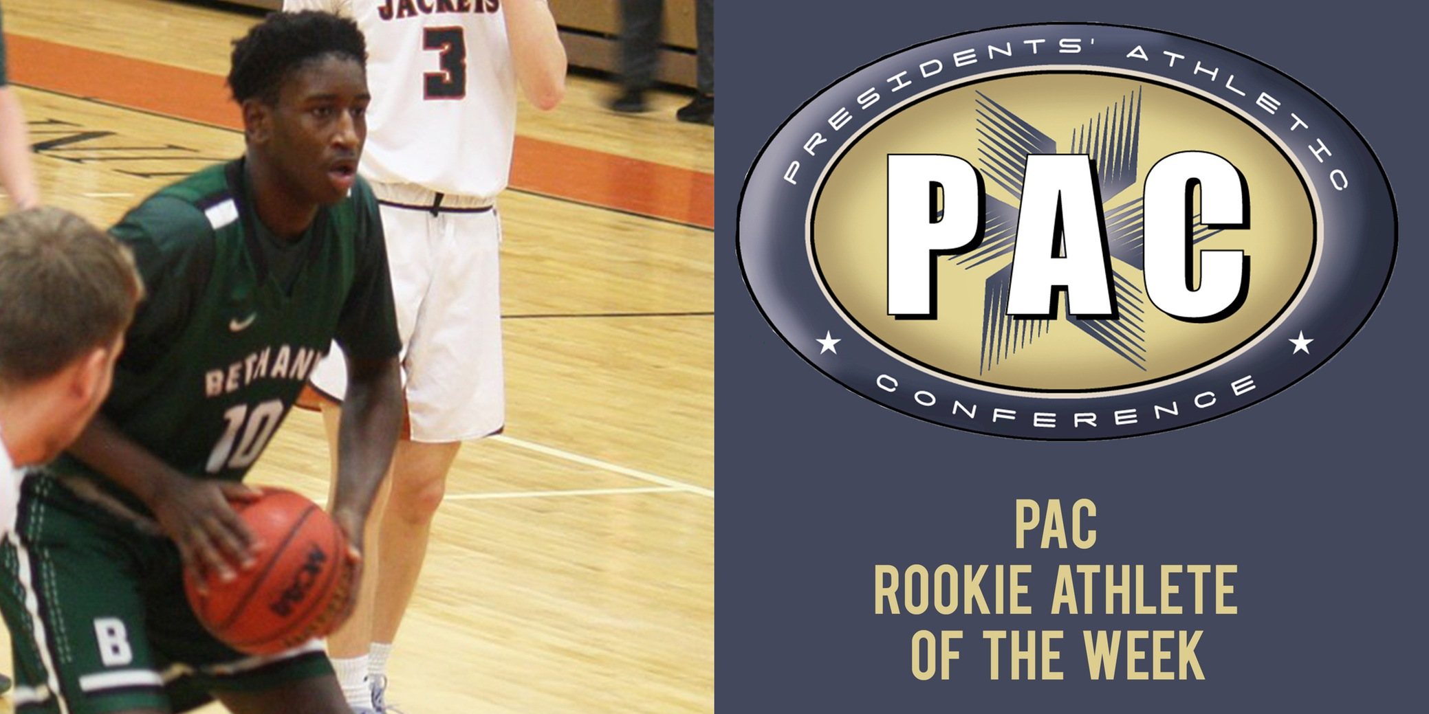 Bray Earns PAC Rookie of the Week Honors