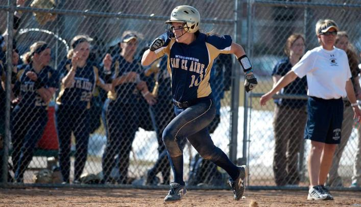 Blugolds Split with Falcons in First Series at Home