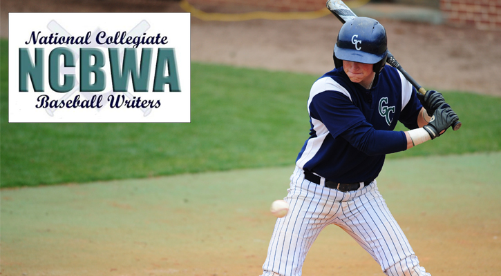 GC Baseball's Hazel Named NCBWA First Team All-American
