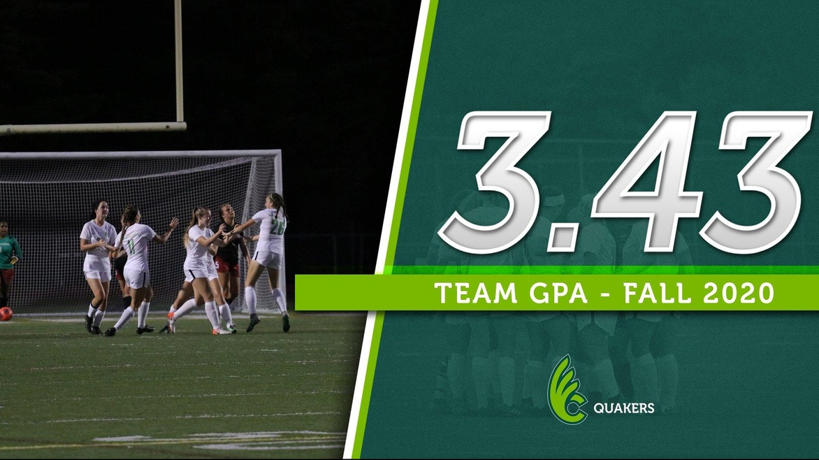 Women's Soccer Achieves 3.43 Team GPA for Fall Semester