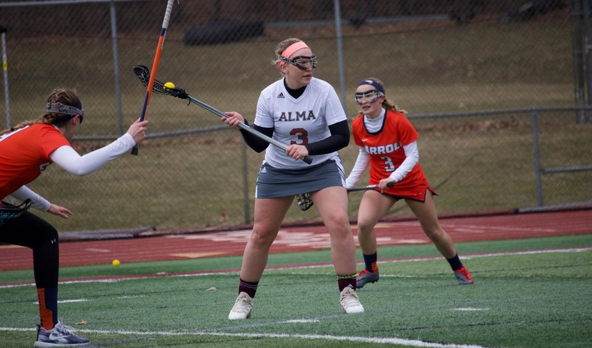 Women's Lacrosse Defeats Concordia Chicago to Wrap up Non-Conference Play